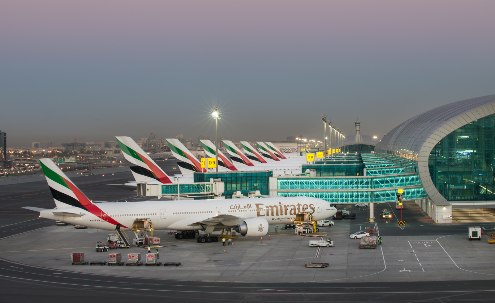 DUBAI AIRPORT STILL WORLD LEADER ON PASSENGER TRAFFIC