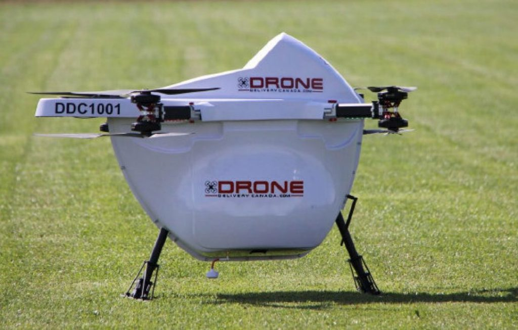DSV to expand Canadian drone programme
